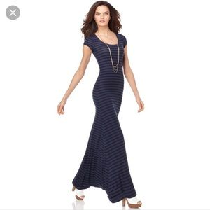 BCBG MaxAzria Lexie Scoop Neck Maxi Dress